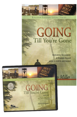 Going Till You're Gone audio & book value pack