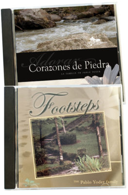 Footsteps and Corazones de Piedra CD value pack