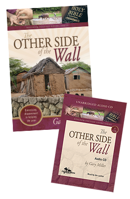 The Other Side of the Wall audio & book value pack