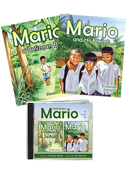 Mario, A Belizean Boy & His Friends audio & two book value pack
