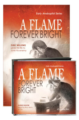A Flame Forever Bright audio & book value pack