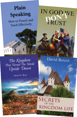 David Bercot~ Four Book Value Pack