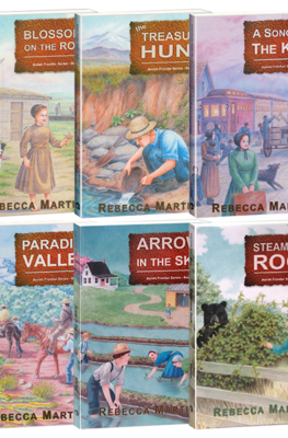 The Amish Frontier Series~ Six Book Value Pack