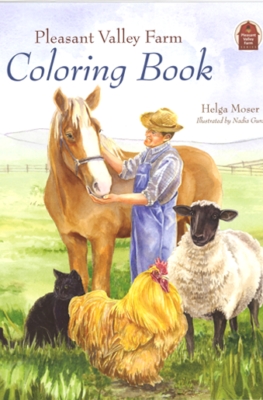 Pleasant Valley Farm Coloring Book