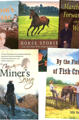 Freedom's Star, The Miner's Song, Horse Stories, March Forward, By the Feilds of Fish Creek Value Pack